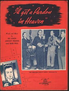 I-039-ll-Get-A-Pardon-In-Heaven-1940-The-Tobacco-Tags-Sheet-Music