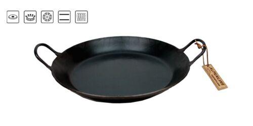 ALPENLINE Eisenpfanne Bratpfanne schmiedeeisern handgeschmiedet 28 cm 2 Griffe**