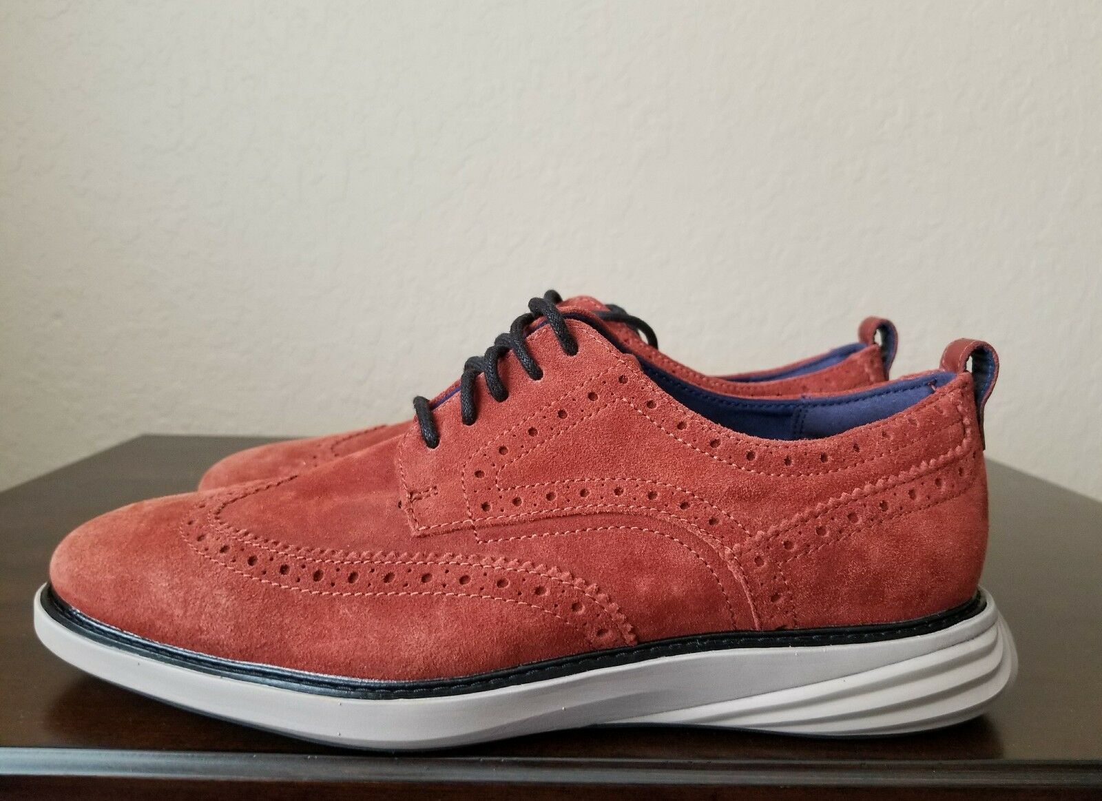 Cole Haan grandevolution punta del ala Oxford Zapatos Brandy Marrón para para Marrón Hombre C26314 cc21db