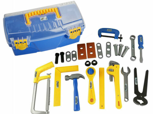 Kids Toy Tool Kit Tool Box with Tools and Accessories