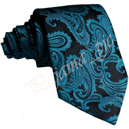 BRAND New Men/'s Microfiber Self tie Neck tie Paisley Wedding Party Prom Formal