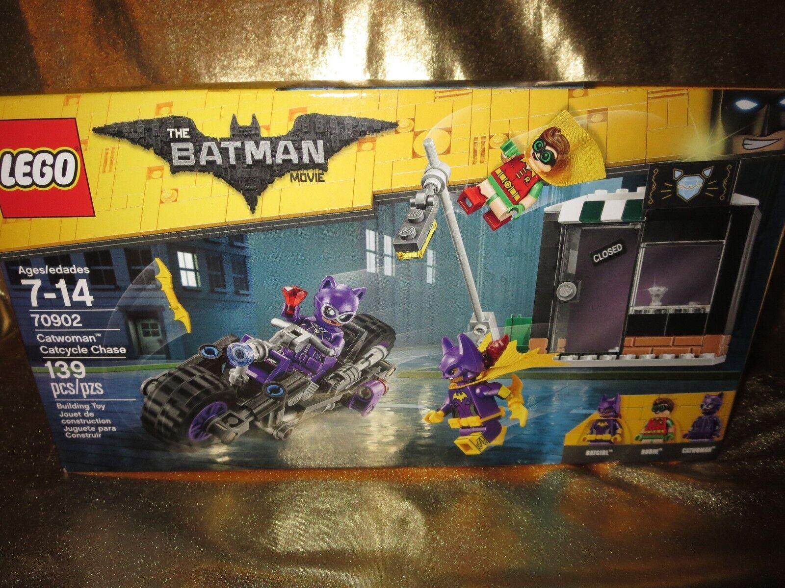 The Batman Movie Catwoman Catcycle- Chase LEGO Set 139pcs 70902 NEW
