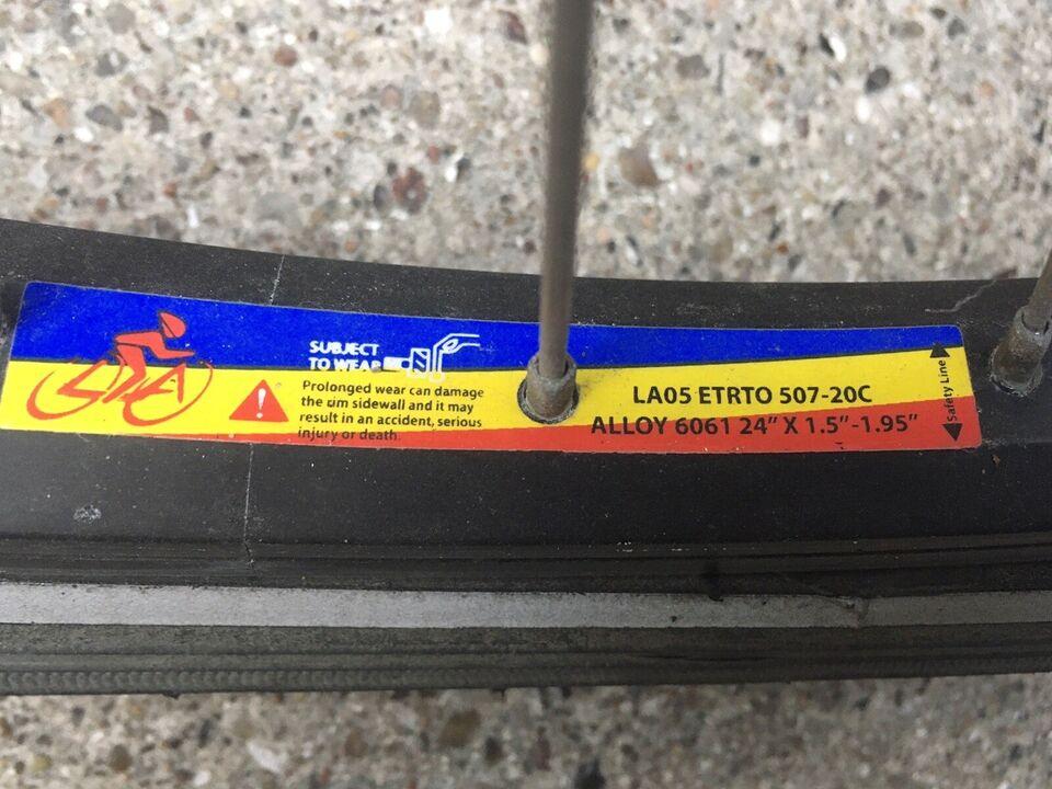 Unisex børnecykel, citybike, MBK