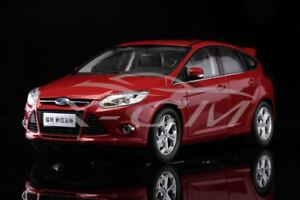 Details About Diecast Car Model Old Ford Focus 1 18 Red Gift