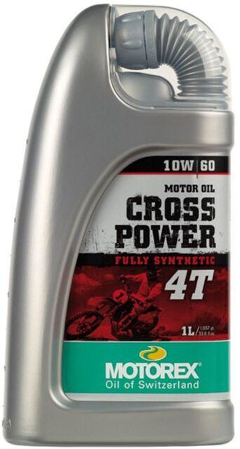 Motorex Cross Power 4-Stroke/4T 10/60 1L Fully Synthetic Engine Oil KTM