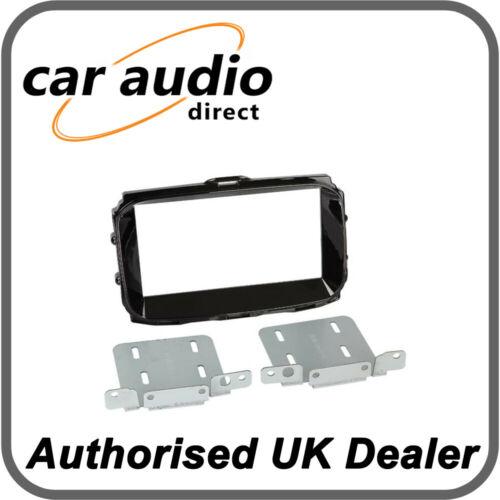 Connects2 CT23AR15 Alfa Romeo Giulietta 2014/> Gloss Black Double DIN Facia Plate