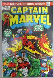 Captain-Marvel-27-Starlin-1st-App-Death-3rd-Thanos-Starfox-Drax-Marvel-Comics