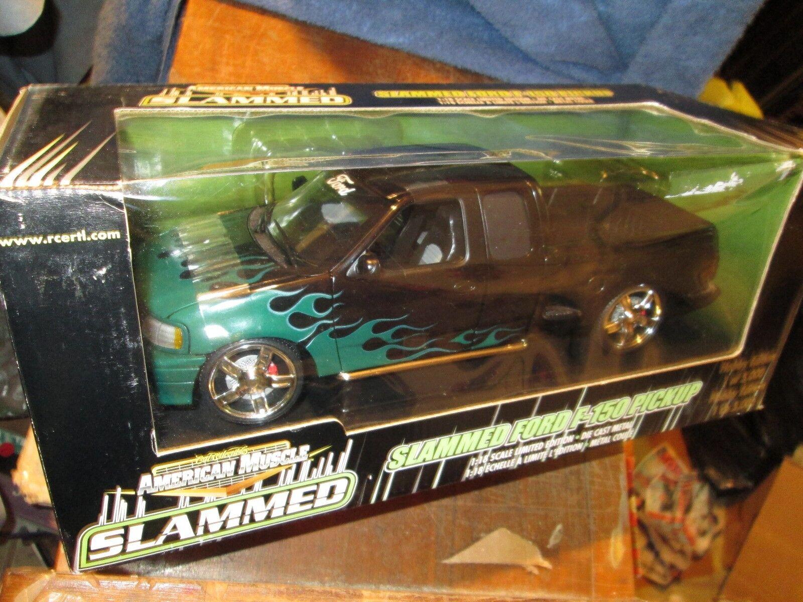 Golpe Ford F 150 Extendido Taxi nero Hobby Camioneta 1 18 Americano