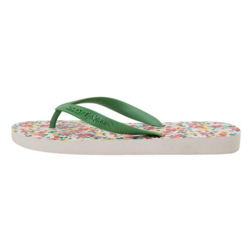 Slydes NEW Womans Cath Kidston Shirley Flip Flops Cream BNWT