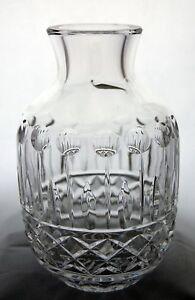 Shannon Crystal Designs Of Ireland 24 Lead Crystal Vase Made In Poland Ebay