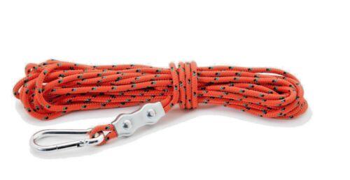 Magnet Fishing 8mm Rope Full Set Up 10 metre length DELUXE KIT 800KG break!