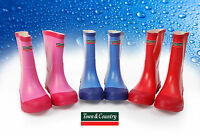 Town & Country Kid's Wellington Rain Boots Children's Rubber Wellies Waterproof