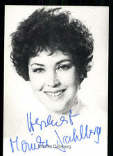 Monika Dahlberg Autogrammkarte Original Signiert ## BC 14525