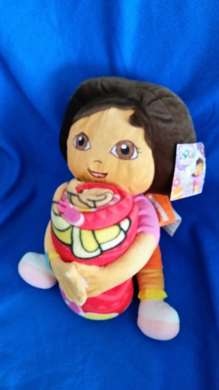 Dora The Explorer Blanket And Plush Toy Combination New