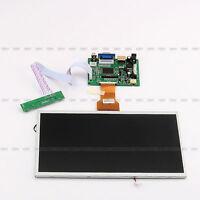 10.1'' Lcd Screen Display Monitor +driver Key Board Hdmi/vga/2av Fr Raspberry Pi
