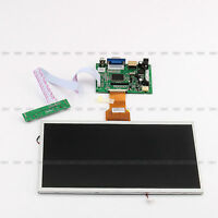 10.1'' Lcd Screen Display Monitor +driver Key Board Hdmi/vga/2av Fr Raspberry Pi