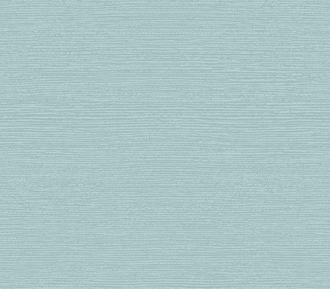 1804-122-01 - Aurora Grass Cloth Texture Seafoam Teal 1838 Wallpaper