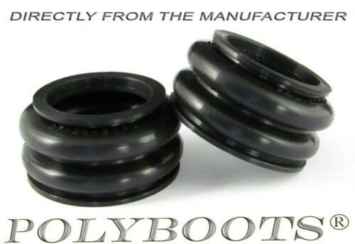 2x Polyboots BMW Telelever Ball Joint Dust Boot 27x34x21 mm Staubmanschetten