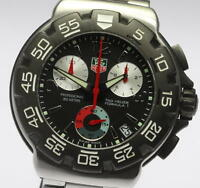 Auth TAG HEUER FORMULA1 CAC1110-0 Chronograph Quartz Men's wrist watch_341637