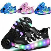 Hot Kids Flash Jazzy Hot Boys Girls Junior Led Shoes Light Heelys Roller Skate