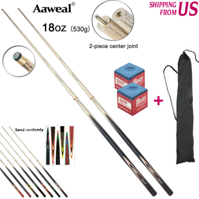 "Valley Supreme One-Piece Bar House Pool Cue Set of 4 57/"" HEAVY Cues FREE Ship"