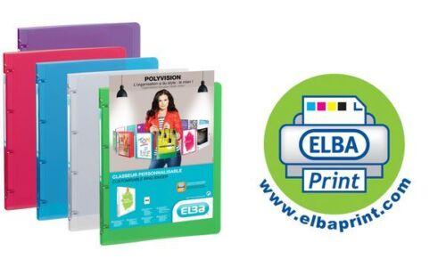 Präsentationsringbuch Sichtordner POLYVISION 30mm A4 farblos transparent