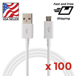 Wholesale-Bulk-100-pcs-White-Micro-USB-Charger-Cable-Cords-for-Samsung-LG-HTC