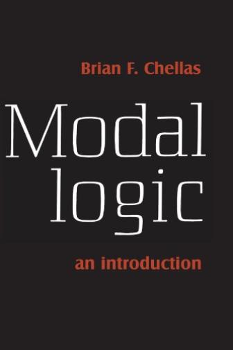 Chellas Brian F-Modal Logic (US IMPORT) BOOK NEU