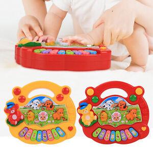 Musical Pédagogique Animal Ferme Piano Developmental musique jouets pour bébé enfants UK