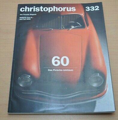 Porsche Christophorus Nr. 332 Magazin 06/08 Das Porsche Jubiläum Direktverkaufspreis