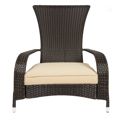 All Weather Wicker Chair With Cushion, All Weather Wicker Outdoor Furniture