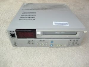 Sony SVP-5600P High-End Profi S-VHS Videoplayer, PAL, 2 Jahre Garantie