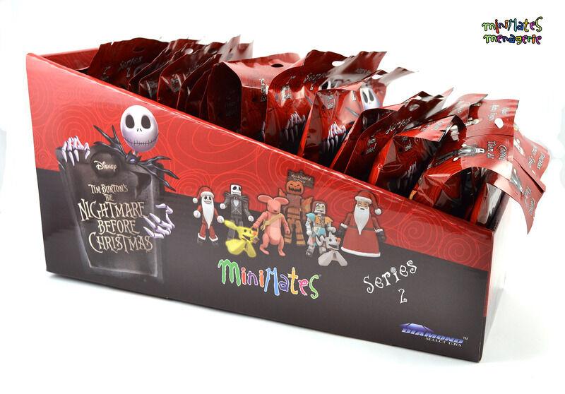 Nightmare Before Christmas Minimates Blinde Tasche Serie 2 gegen Deponie Ovp