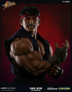 Details About Evil Ryu Sideshow Pcs Ex Ap 1 3 Statue Street Fighter 4 5 Video Game Akuma Ken
