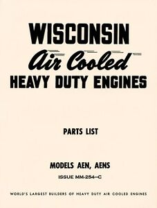 WISCONSIN-AEN-and-AENS-Air-Cooled-Engine-Parts-Manual