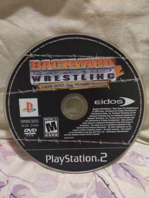 Backyard Wrestling 2: There Goes the Neighborhood (Sony ...