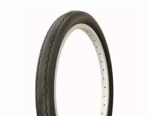 """1-20/"""" x 2.125/"""" Black Slick Lowrider Stingray Bicycle Tire Lowrider Cruiser Bike"""