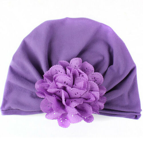 Babymütze Mädchen Blume Turban Beanie Mütze Hijab Kopftuch Erstlingsmütze Hüte