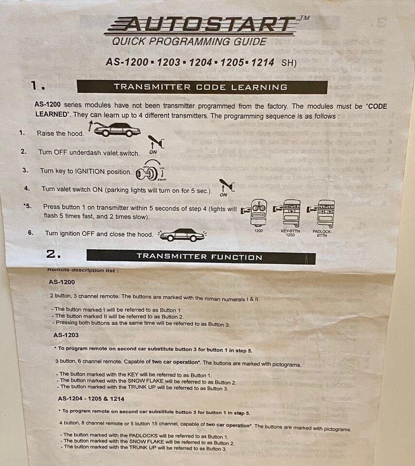Andre reservedele, andet bilmærke