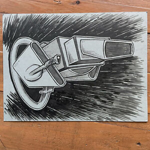 ORIGINAL DRIVE ART: THE MACHITO!