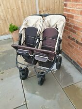 Hauck Baby//Child Roadster Duo//Twin SLX Double Pushchair//Pram//Buggy Caviar//Almond