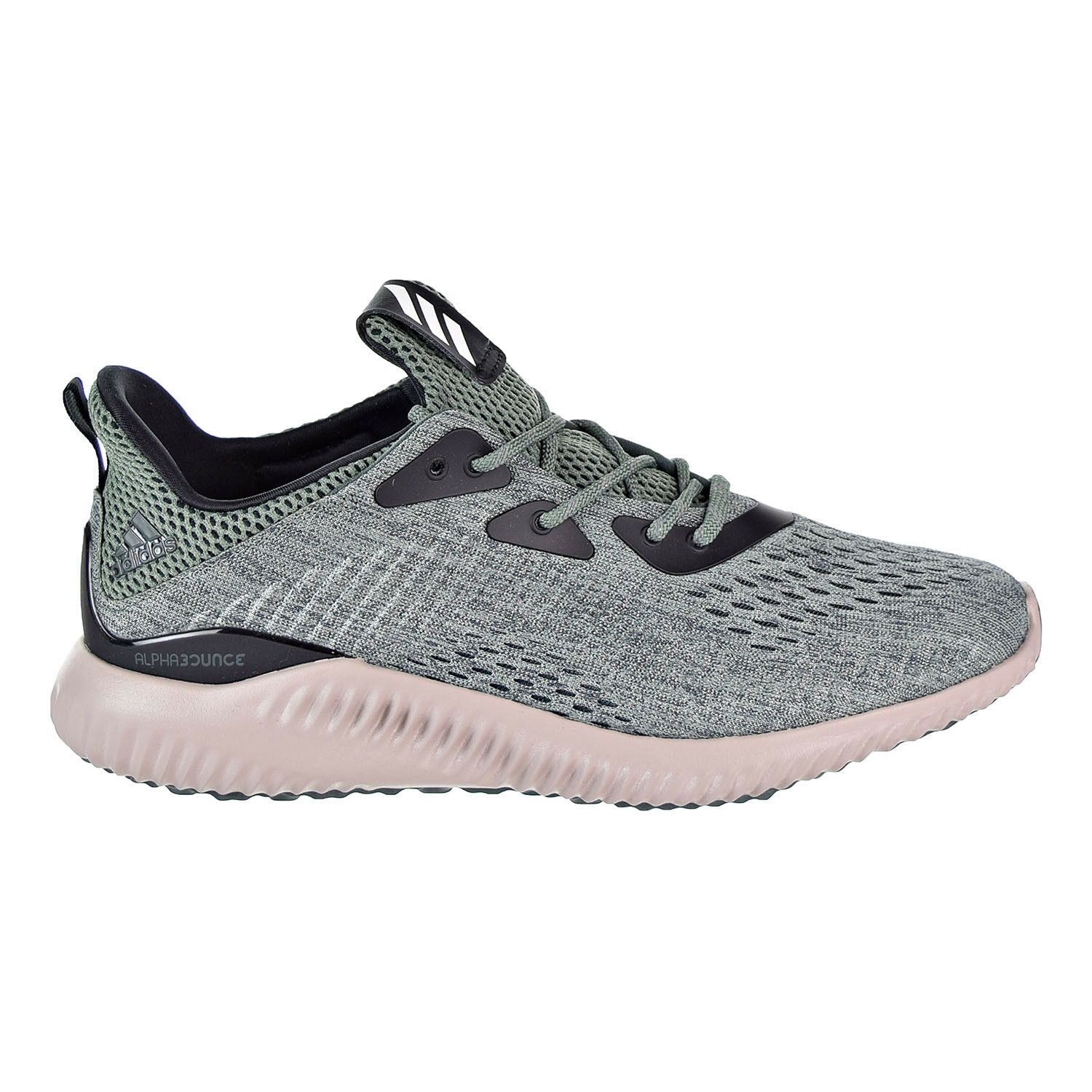 Adidas Alphabounce EM Men's Running shoes Green White BB9042
