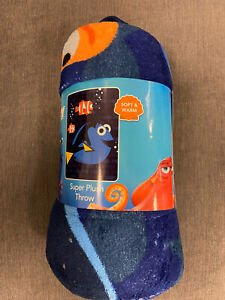 Finding-Dory-Nemo-Disney-Pixar-Soft-Plush-Throw-Blanket-NEW
