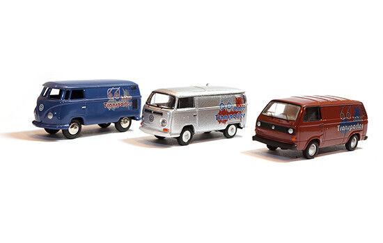 06945 - bouèbe Set 66 ans VW camionnette (t1 t2 t3) - 1 87