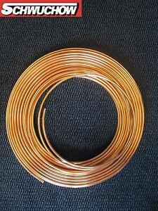 Gut bekannt Kupferrohr 6mm x 1mm weich im Ring CU-Rohr Kupfer Rohr Ölleitung SX61