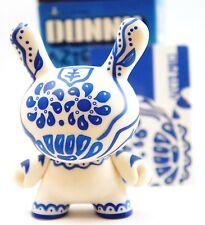 "Kidrobot Dunny 3"" Azteca Series 1 Artemio Blue Flower art figure toy"