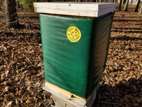 Plan Bee Winter Hive Wrap  Red 8 Frame 3 deeps