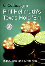 Collins Gem: Phil Hellmuth's Texas Hold 'Em Rules Tips & Strategies Pocket Book