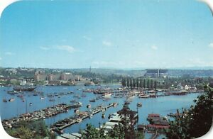 Postcard-Portage-Bay-and-Seattle-Yacht-Club-Washington