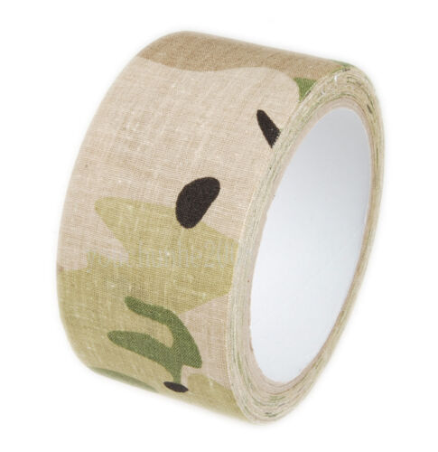 AIRSOFT OUTDOOR MILITARY MULTI-FUNCTIONAL CAMOUFLAGE 5CM TAPE 10M MULTI COLORS